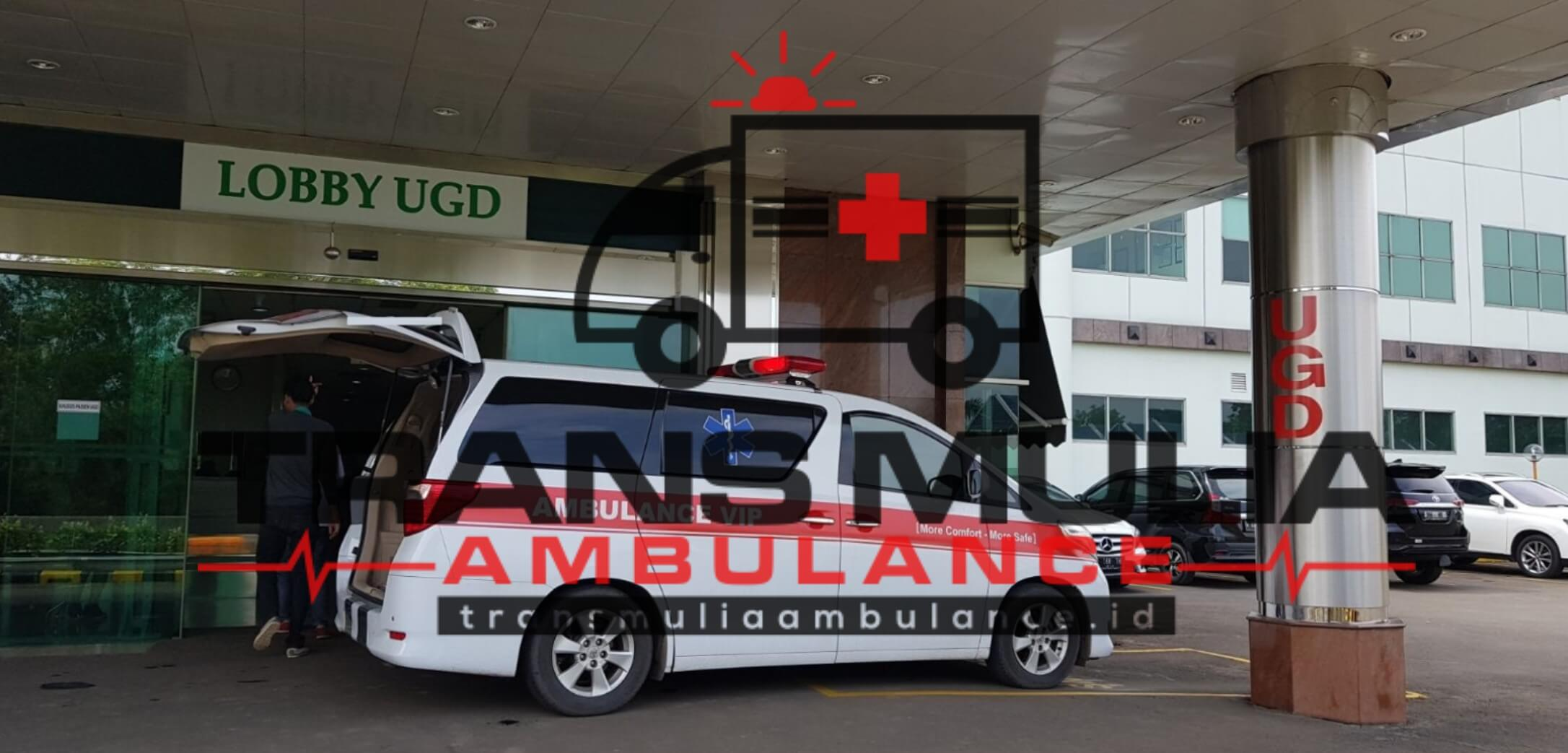 Rental Ambulance Vellfire