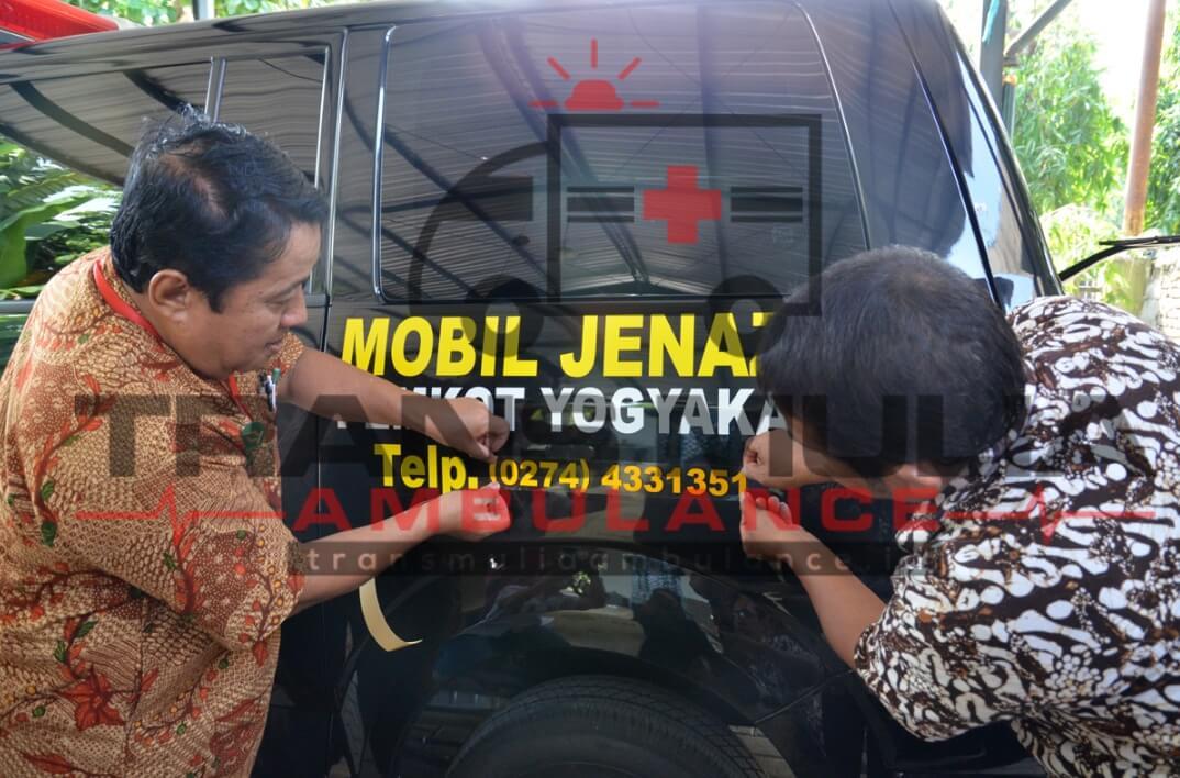 Mobil Jenazah Pemkot Yogyakarta