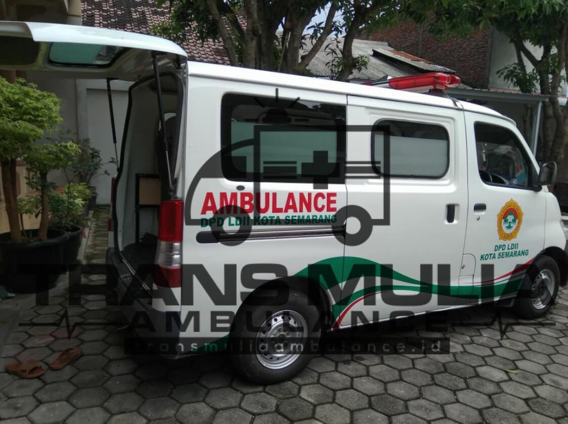 Karoseri Ambulance Kota Semarang Jawa Tengah