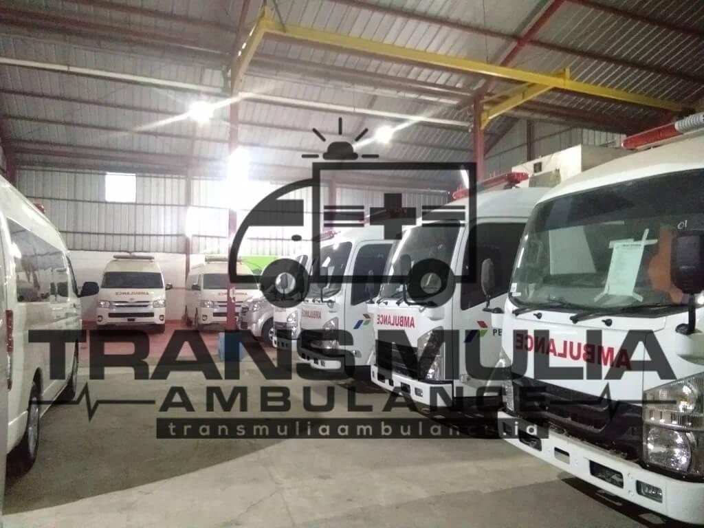 Karoseri Kendaraan Ambulance